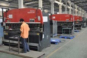 Machine de flexion CNC