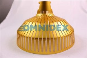 Golden Lampshade