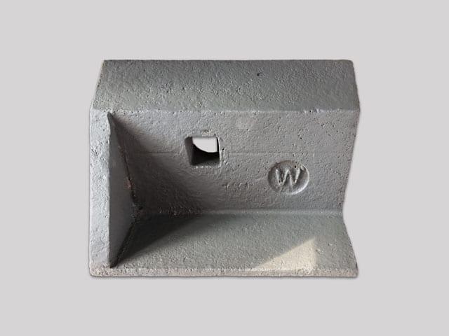 Pedestal de bomba fundido de espuma perdida