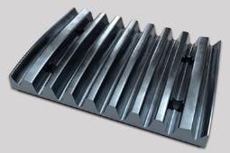 Fundición de acero mecanizado