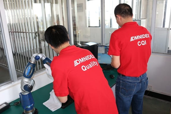 Omnidex R&D Quality Control Team   industrial manufacturing and engineering solutions   ISO 9001