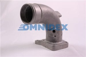 Throttle Flange With Pipe